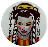 Culture Club - 'George White' Prismatic Button Badge